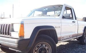 My Jeep Comanche Front!