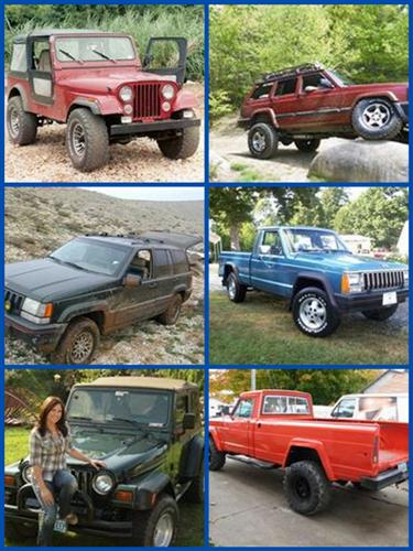 Your Jeep Page!  Readers Jeeps Collage