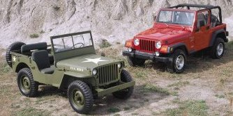 Old Jeep and New Jeep!