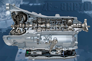 ZF 8HP 8-Speed Transmission