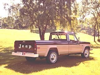Jeep J20 Pickup (File Photo)