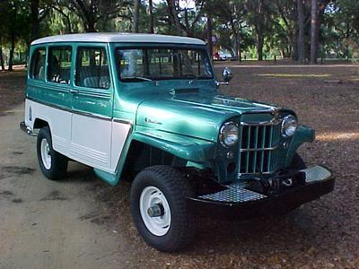 1963 Willys Utility Wagon 4x4, 230-6