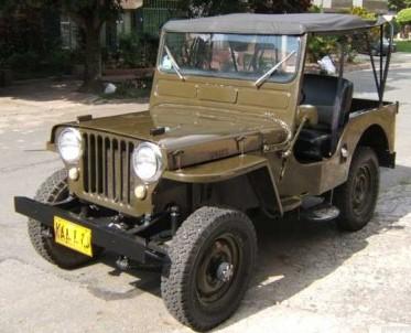 1950 CJ3A (File Photo)