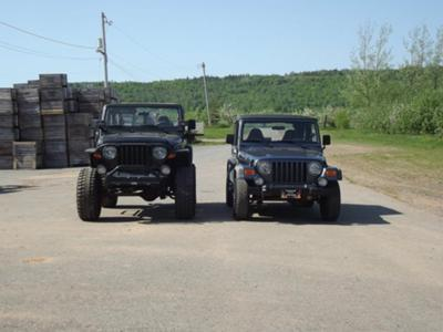 Mine and my moms Jeep together