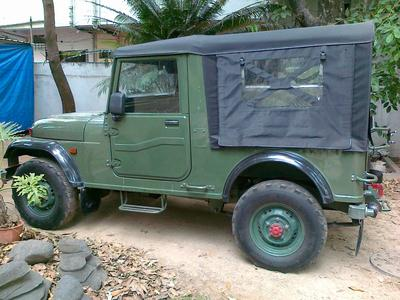 Indian Army Jeep