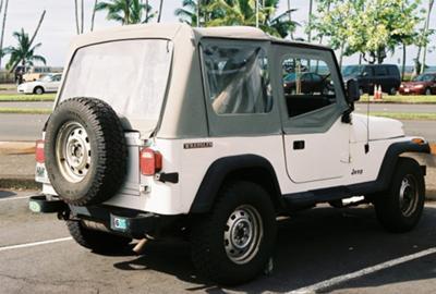 My 1987 Jeep Wrangler YJ