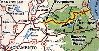Rubicon Trail Map!