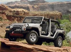 Jeep Wrangler Unlimited (File Photo)