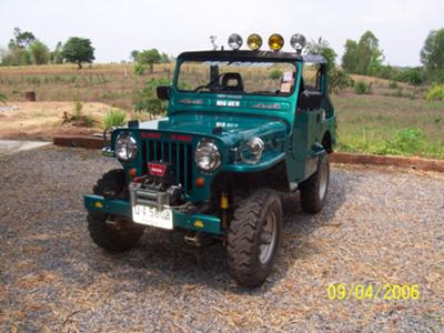 Jeep in Thailand