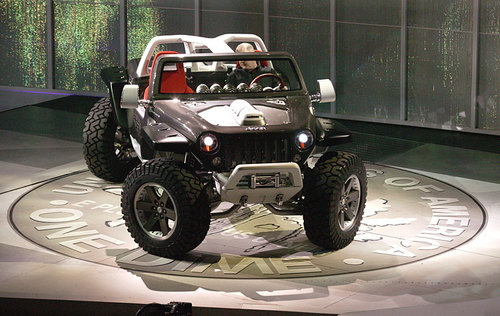 Jeep Concept (2005 Hurricane on Display)!