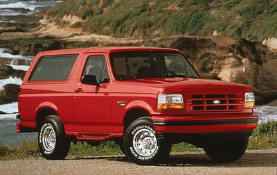 Ford Bronco (File Photo)