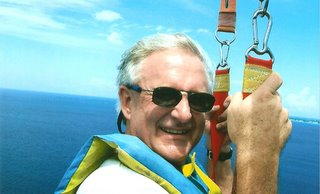 About Me...On Vacation Parasailing in 2006!