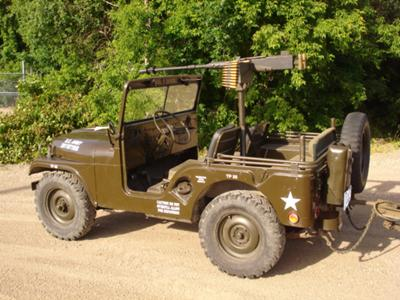 M38A1 Jeep 1950 Model