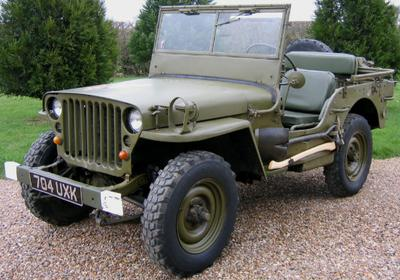 Willys MB WWII Jeep