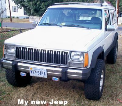 My Ghost Dog 89 Cherokee Laredo