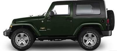 2009 Jeep Wrangler JK (File Photo)
