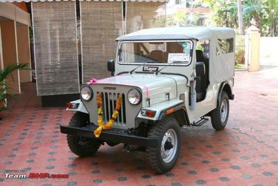 New Jeep The Mahindra Major