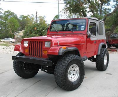 1988 Jeep Wrangler YJ (File Photo)