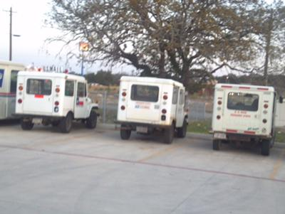 3 Girls Running Old Postal Jeeps (including Newman) and Still Working for the USPS