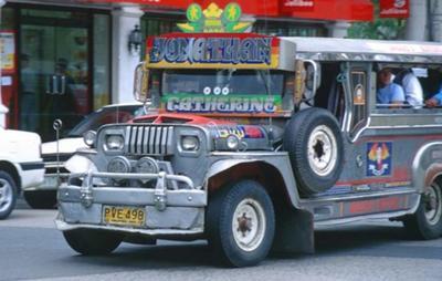 A Philippine Passenger Jeepney