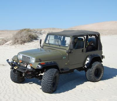 The Quot Junkgler Quot Modified Yj