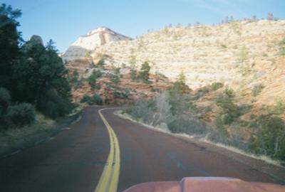 In Zion Park