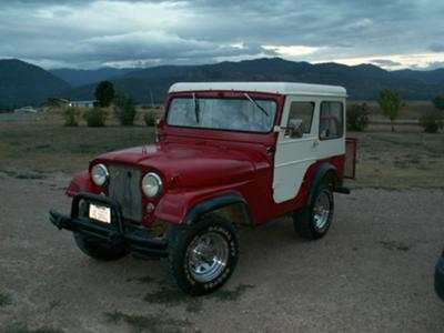 '57 Willys Jeep at my son's place