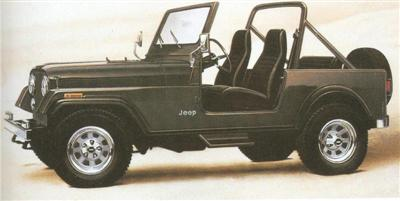 1984 Jeep CJ7 (file photo)