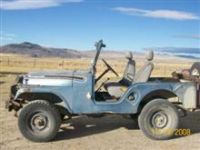 1959 Willys CJ5..Lisa!