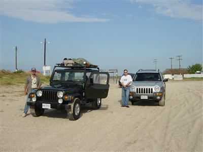My 1998 Wrangler and Friend's Jeep Liberty